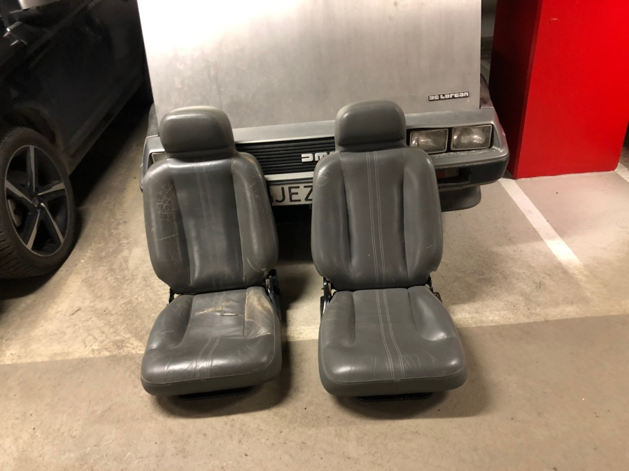 Seats just removed from the car